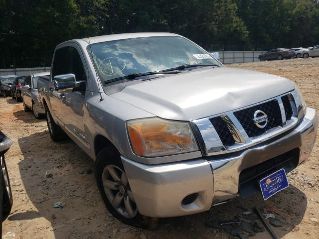 Salvage cars for sale from Copart Austell, GA: 2012 Nissan Titan S
