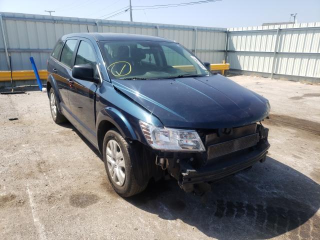 Vehiculos salvage en venta de Copart Dyer, IN: 2014 Dodge Journey SE