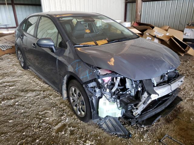 Salvage cars for sale from Copart Houston, TX: 2021 Toyota Corolla LE