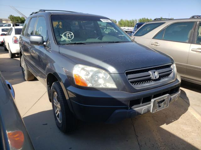 Vehiculos salvage en venta de Copart Littleton, CO: 2005 Honda Pilot EXL
