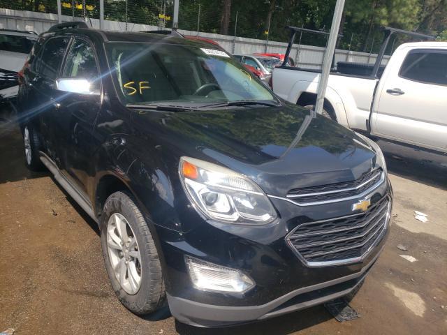 Vehiculos salvage en venta de Copart Austell, GA: 2016 Chevrolet Equinox LT