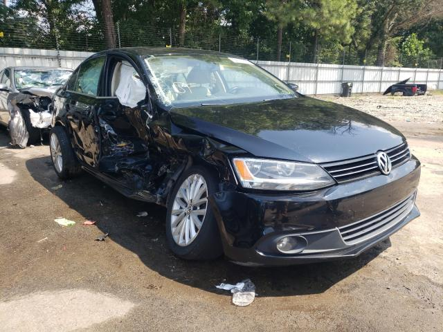 Salvage cars for sale from Copart Austell, GA: 2012 Volkswagen Jetta SEL