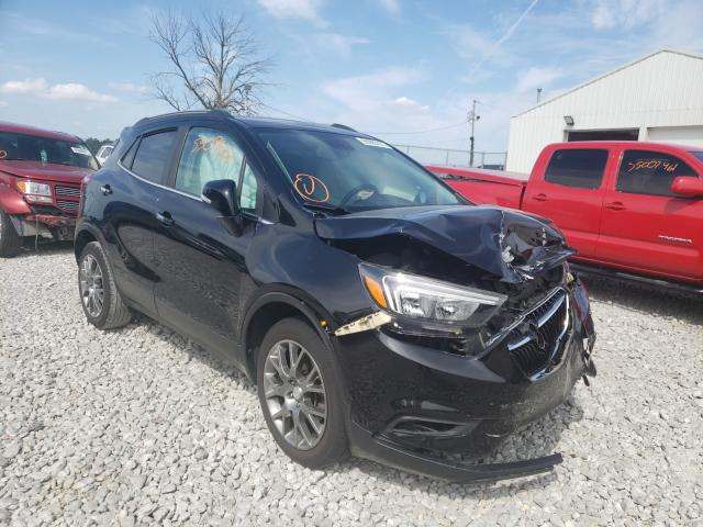 Salvage cars for sale from Copart Cicero, IN: 2017 Buick Encore Sport