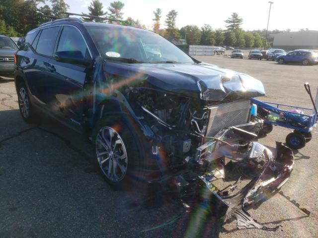 Salvage cars for sale from Copart Exeter, RI: 2019 GMC Terrain SL