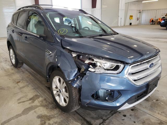 Vehiculos salvage en venta de Copart Avon, MN: 2018 Ford Escape SEL