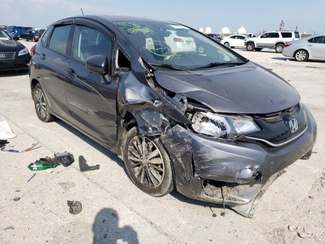 Salvage cars for sale from Copart New Orleans, LA: 2017 Honda FIT EX