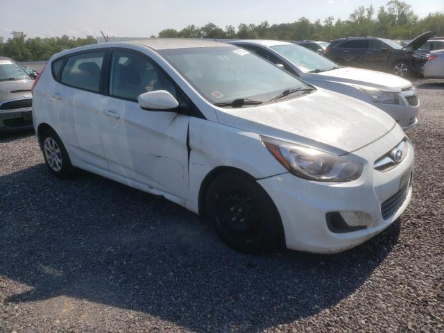 Vehiculos salvage en venta de Copart Fredericksburg, VA: 2014 Hyundai Accent GLS