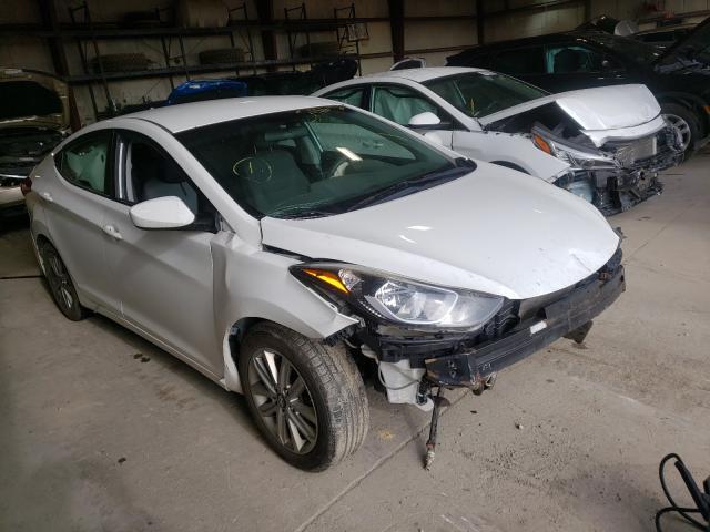 Hyundai salvage cars for sale: 2014 Hyundai Elantra SE