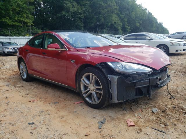 Salvage cars for sale from Copart Austell, GA: 2013 Tesla Model S