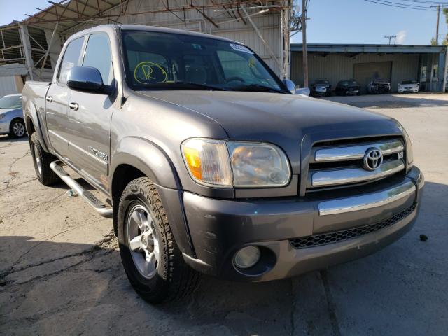 Salvage cars for sale from Copart Corpus Christi, TX: 2006 Toyota Tundra DOU