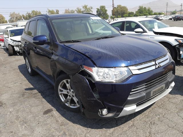 Mitsubishi Outlander salvage cars for sale: 2015 Mitsubishi Outlander