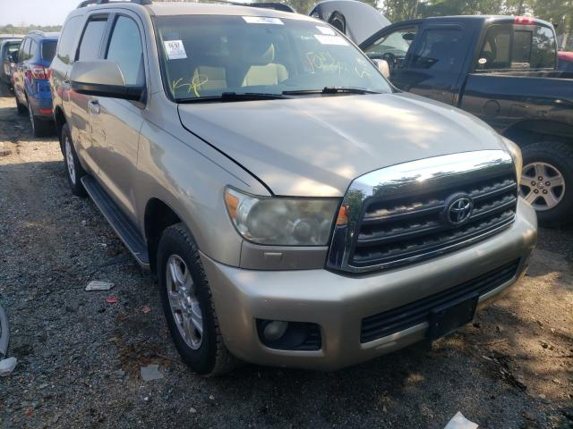 Salvage cars for sale from Copart Baltimore, MD: 2008 Toyota Sequoia SR