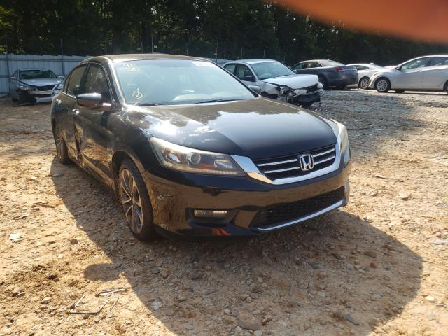 Salvage cars for sale from Copart Austell, GA: 2015 Honda Accord Sport