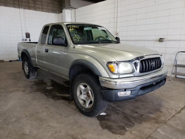 Salvage cars for sale from Copart Blaine, MN: 2001 Toyota Tacoma Prerunner