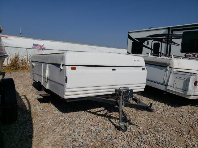 Fleetwood Trailer salvage cars for sale: 1996 Fleetwood Trailer