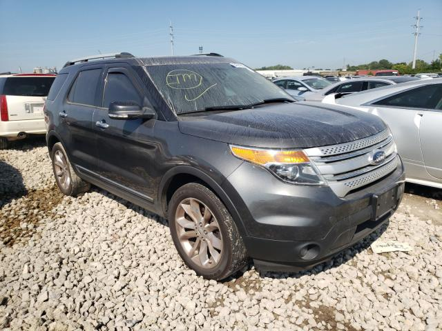 Salvage cars for sale from Copart Columbus, OH: 2015 Ford Explorer X