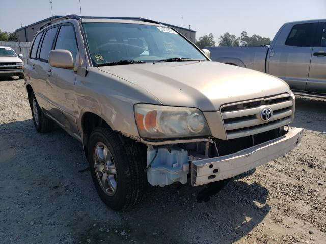 2004 Toyota Highlander en venta en Spartanburg, SC