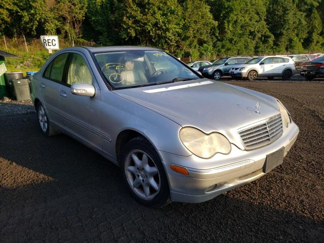 Salvage cars for sale from Copart Marlboro, NY: 2001 Mercedes-Benz C 240