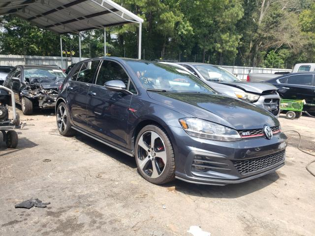Salvage cars for sale from Copart Austell, GA: 2018 Volkswagen GTI S/SE
