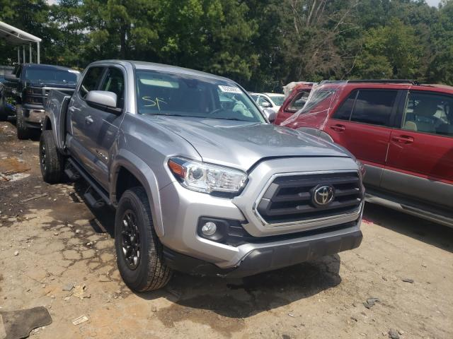 Salvage cars for sale from Copart Austell, GA: 2021 Toyota Tacoma DOU