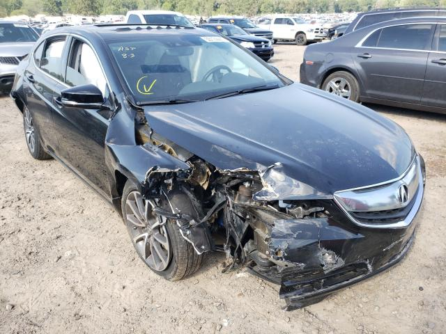 Salvage cars for sale at Conway, AR auction: 2015 Acura TLX Advance