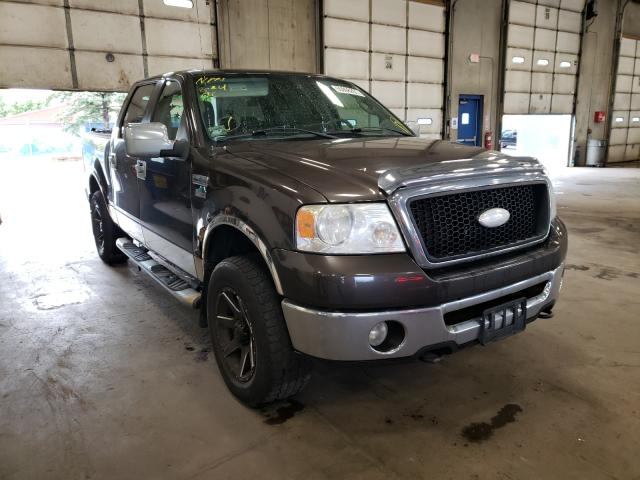 Salvage cars for sale from Copart Blaine, MN: 2006 Ford F150 Super