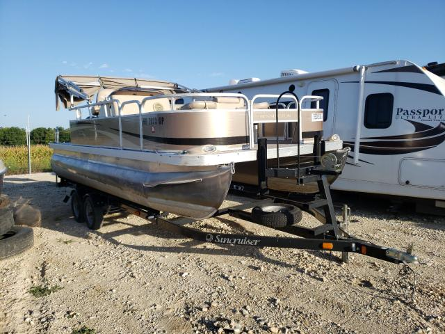 Salvage boats for sale at Columbia, MO auction: 2012 Bennche 20SF W/50E