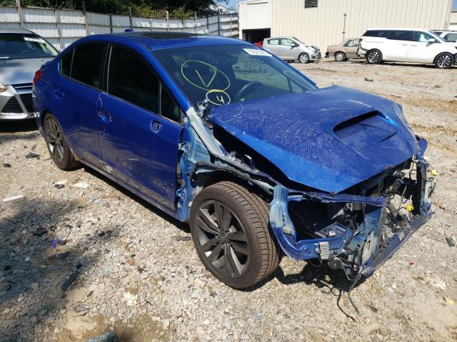 Salvage cars for sale from Copart Gainesville, GA: 2017 Subaru WRX Premium
