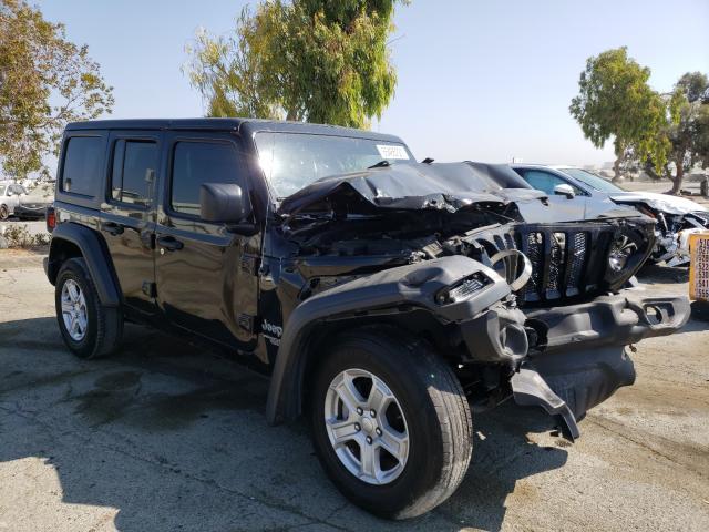 Vehiculos salvage en venta de Copart Martinez, CA: 2018 Jeep Wrangler U