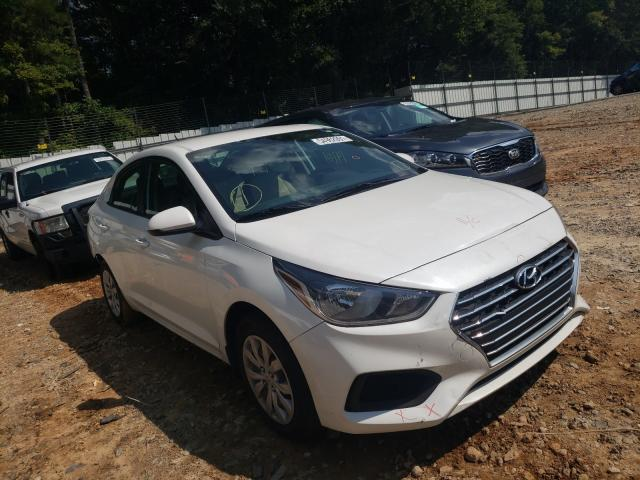 Salvage cars for sale from Copart Austell, GA: 2021 Hyundai Accent SE