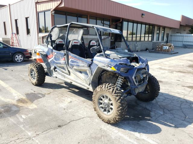 Salvage cars for sale from Copart Fort Wayne, IN: 2021 Polaris RZR XP 4 1