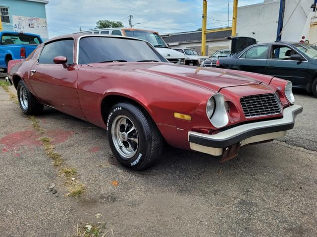 Salvage cars for sale from Copart Mendon, MA: 1974 Chevrolet Camaro