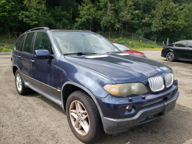 BMW X5 salvage cars for sale: 2004 BMW X5