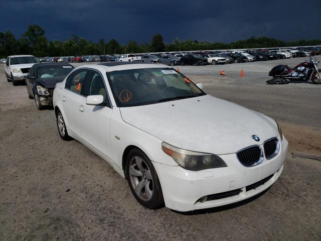 Vehiculos salvage en venta de Copart Lumberton, NC: 2007 BMW 530 I