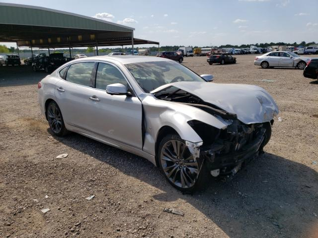 Salvage cars for sale from Copart Houston, TX: 2018 Infiniti Q70L 3.7 L