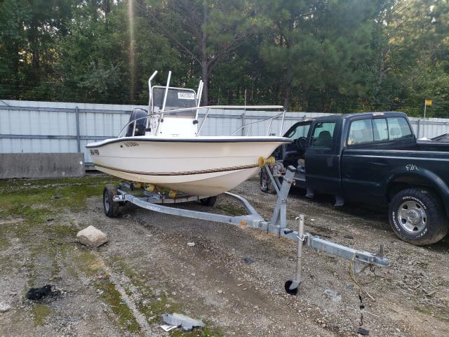 Salvage boats for sale at Sandston, VA auction: 1993 Sea Pro Boat