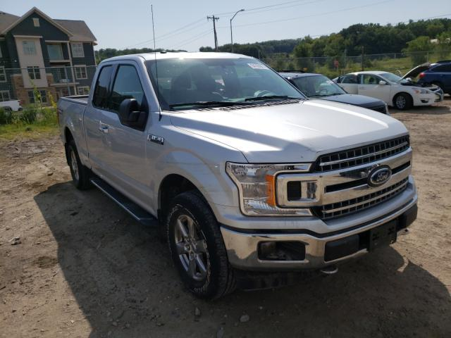 Salvage cars for sale from Copart Madison, WI: 2018 Ford F150 Super
