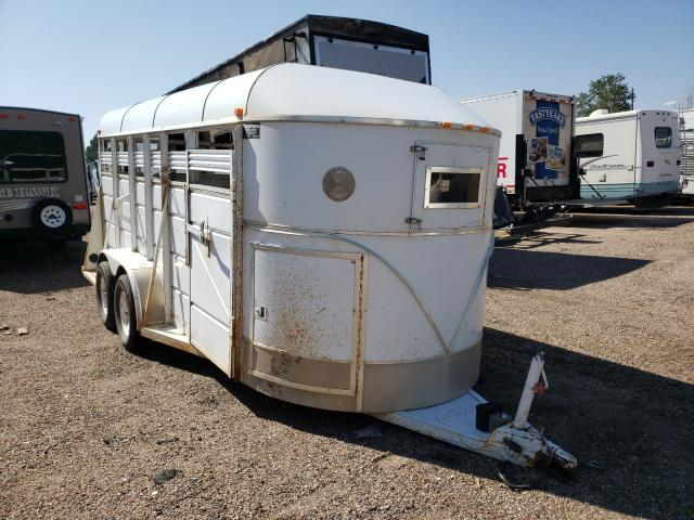 Pond salvage cars for sale: 2004 Pond Horse Trailer