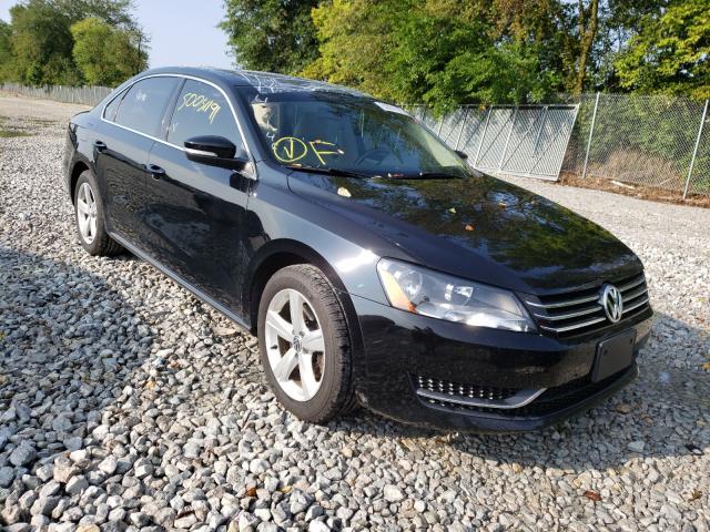 Salvage cars for sale from Copart Cicero, IN: 2013 Volkswagen Passat SE