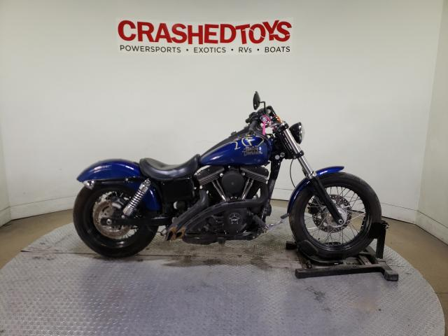 Harley-Davidson Fxdbp Dyna salvage cars for sale: 2015 Harley-Davidson Fxdbp Dyna