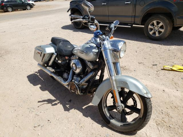 Salvage cars for sale from Copart Andrews, TX: 2014 Harley-Davidson FLD Switch