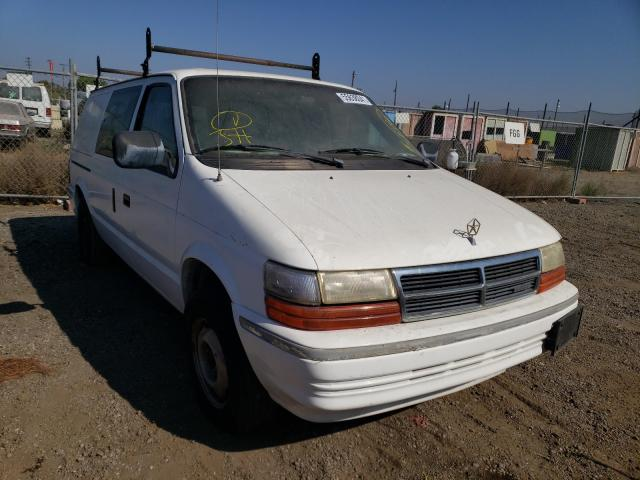 Salvage cars for sale from Copart San Martin, CA: 1993 Dodge Caravan EX