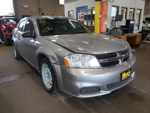 Salvage cars for sale from Copart Blaine, MN: 2013 Dodge Avenger SE