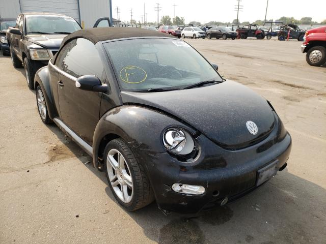 Salvage cars for sale at Nampa, ID auction: 2004 Volkswagen New Beetle