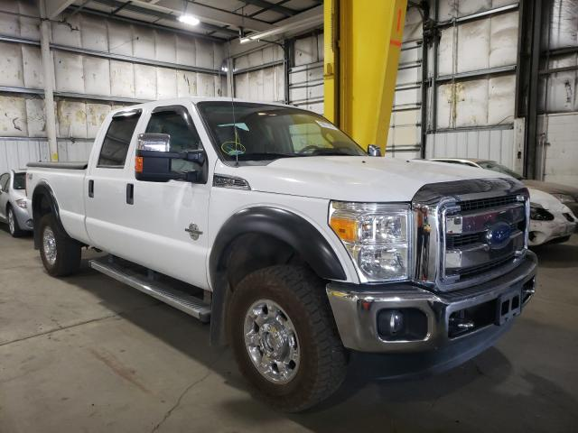 Salvage cars for sale from Copart Woodburn, OR: 2013 Ford F350 Super