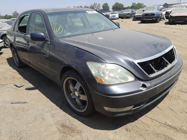 Salvage cars for sale from Copart Colton, CA: 2006 Lexus LS 430