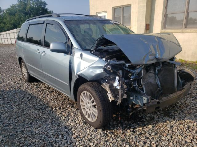 Salvage cars for sale from Copart Chambersburg, PA: 2009 Toyota Sienna XLE