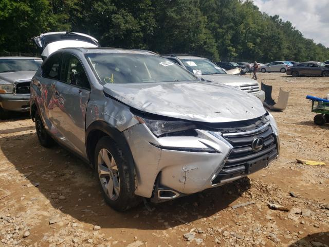Salvage cars for sale from Copart Austell, GA: 2017 Lexus NX 200T BA