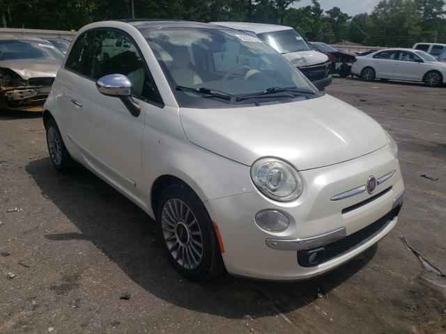 Fiat salvage cars for sale: 2012 Fiat 500 Lounge