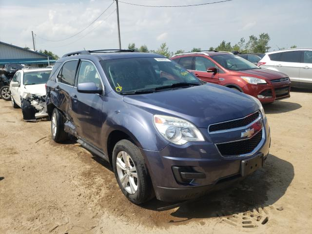 Salvage cars for sale from Copart Pekin, IL: 2013 Chevrolet Equinox LT